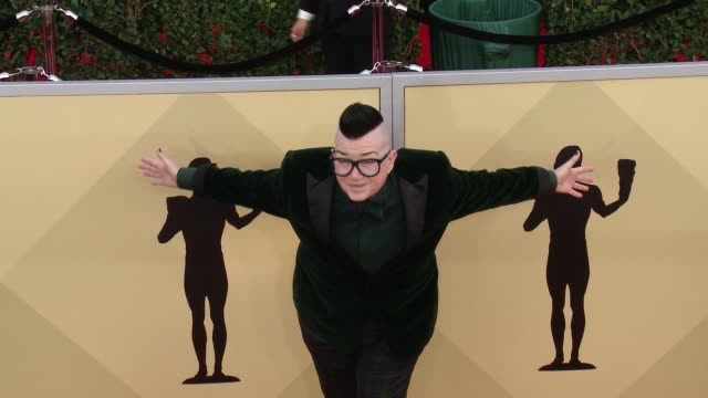 Lea DeLaria at the 24th Annual Screen Actors Guild Awards at The Shrine Auditorium on January 21 2018 in Los Angeles California