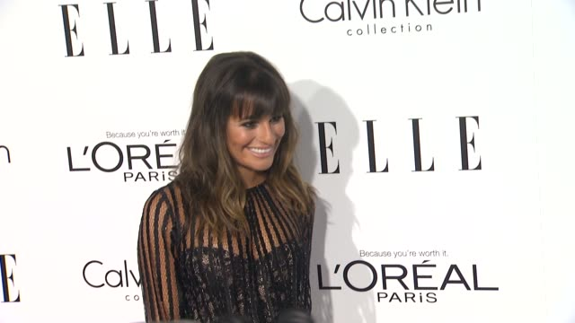 Lea Michele at 19th Annual ELLE Women In Hollywood Celebration on in Beverly Hills CA