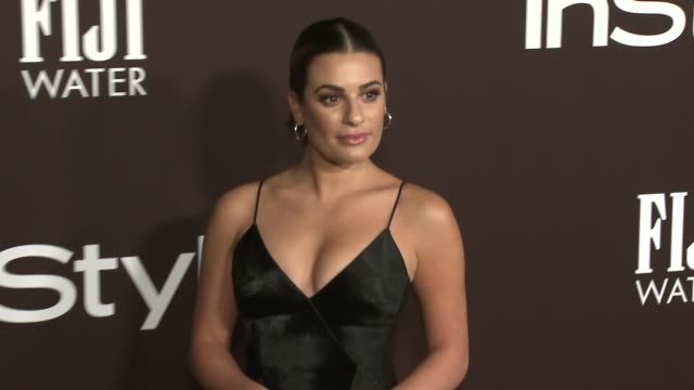 Lea Michele at 2018 InSyle Awards at The Getty Center on October 22 2018 in Los Angeles California