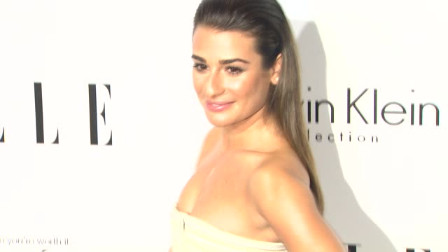 Lea Michele at 20th Annual ELLE Women In Hollywood in Beverly Hills CA on 10/21/13
