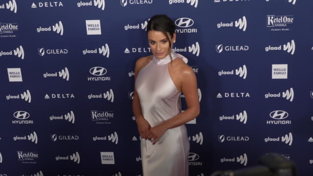 Lea Michele at 30th Annual GLAAD Media Awards in Los Angeles CA