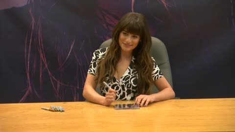 """lea michele at lea michele signs copies of her debut album """"louder"""" at barnes & noble bookstore at the grove on march 08, 2014 in los angeles,... - the grove los angeles stock videos & royalty-free footage"""