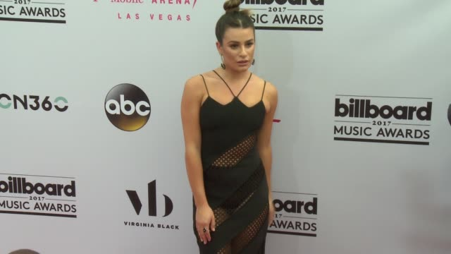 Lea Michele at the 2017 Billboard Music Awards Arrivals at TMobile Arena on May 21 2017 in Las Vegas Nevada