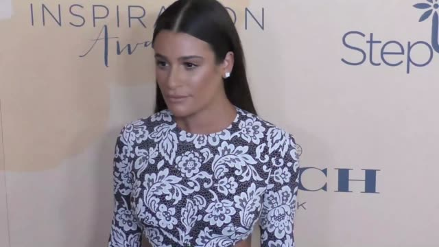 Lea Michele at The Step Up 14th Annual Inspiration Awards at The Beverly Hilton Hotel on June 02 2017 in Beverly Hills California