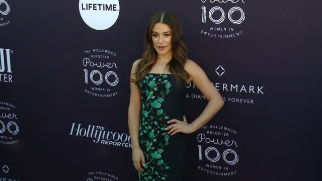 Lea Michele at the The Hollywood Reporter's 2017 Women In Entertainment Breakfast at Milk Studios on December 6 2017 in Hollywood California