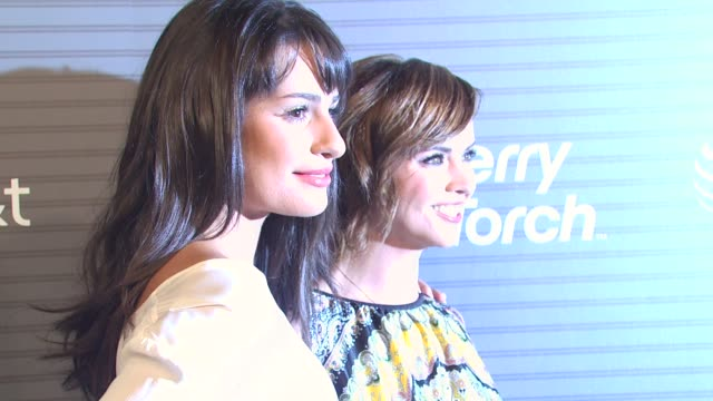 Lea Michele Christina Ricci at the BlackBerry Torch From ATT USA Launch Party at Los Angeles CA