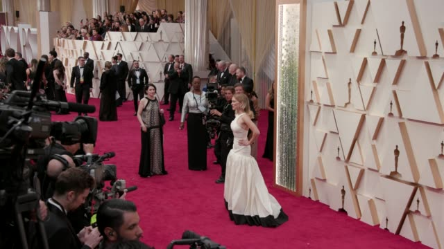 lea seydoux at the 92nd annual academy awards at dolby theatre on february 09, 2020 in hollywood, california. - academy awards stock-videos und b-roll-filmmaterial