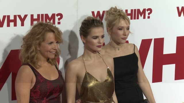 Lea Thompson Zoey Deutch and Madelyn Deutch at the Why Him World Premiere at Regency Bruin Theater on December 17 2016 in Westwood California