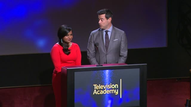 Lead Actor in a Drama Series nominees announced by Carson Daly and Mindy Kaling 66th Primetime Emmy Awards Nominations Announcement at Leonard H...