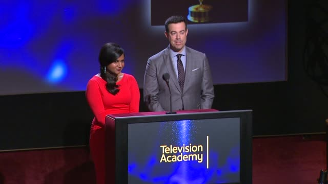 Lead Actress in a Drama Series nominees announced by Carson Daly and Mindy Kaling 66th Primetime Emmy Awards Nominations Announcement at Leonard H...