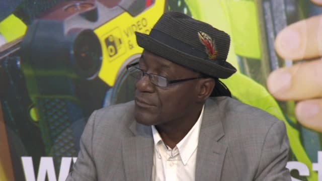 lead singer of the specials appeals for information following his grandson's fatal stabbing; england: west midlands: coventry: int neville staple... - コベントリー点の映像素材/bロール