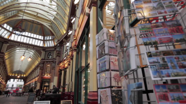 Leadenhall Market, The City of Westminster, London, England, UK