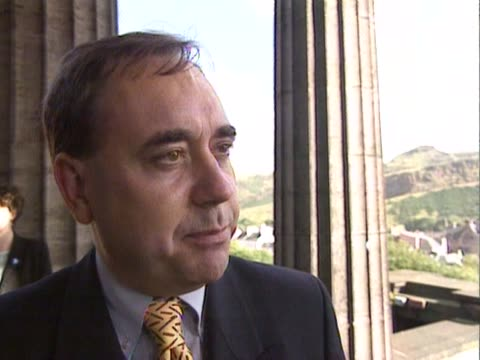 SNP leader Alec Salmond talks about the differences between the prodevolution and antidevolution groups in Scotland