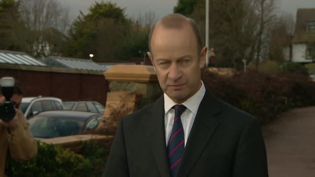 UKIP leader Henry Bolton saying he will stay on as leader despite a vote of no confidence from the party and that it is time to drain the swamp