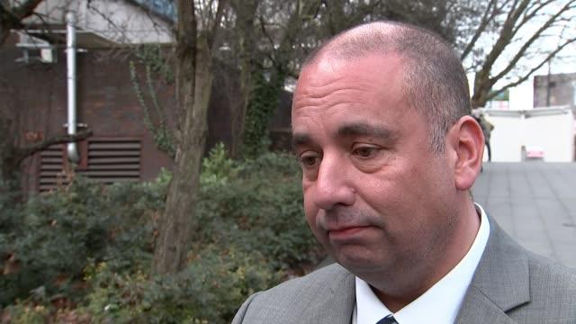 Leader Henry Bolton splits with girlfriend in racist message row London EXT Bill Etheridge MEP interview SOT
