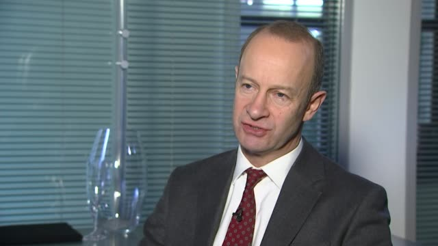 Leader Henry Bolton splits with girlfriend in racist message row London Henry Bolton interview SOT On his position as UKIP leader