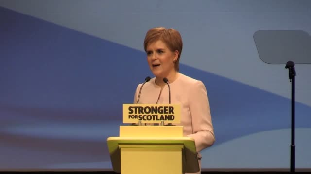 SNP Leader Nicola Sturgeon urges party members to focus on the 'why' of Scottish independence rather than the 'when' during her speech to conference