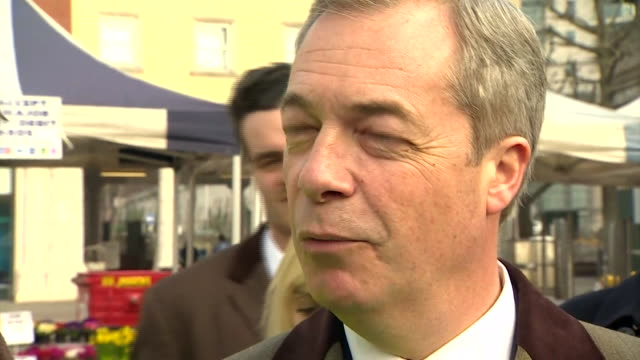 UKIP leader Nigel Farage saying wealthy people in Sloane Square will be reluctant to leave the EU because they are comfortable and don't want...