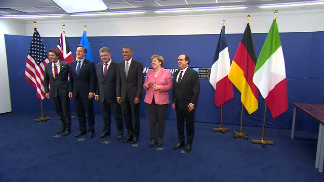 nato leaders are gearing up for a long standoff with russia ordering a multinational military force to poland and the baltic states the group's... - diplomacy stock videos and b-roll footage