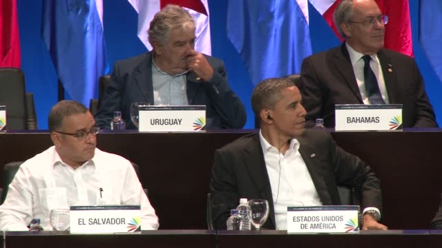 Leaders from across the Americas launched talks here Saturday on expanding trade as the United States came under strong pressure to let Cuba attend...