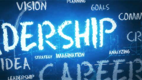 vídeos y material grabado en eventos de stock de fondo de liderazgo (en bucle) - liderazgo