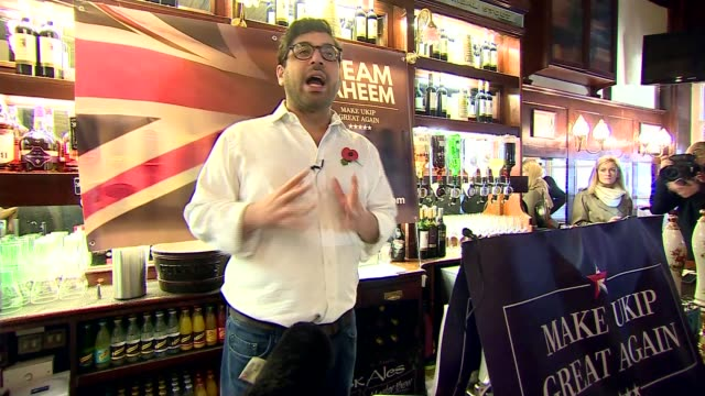 controversial candidate raheem kassam kassam speech continues sot kassam standing on crate to deliver speech script of kassam speech kassam... - beer cap stock videos & royalty-free footage