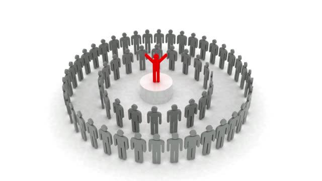 リーダーシップ - 褒美点の映像素材/bロール