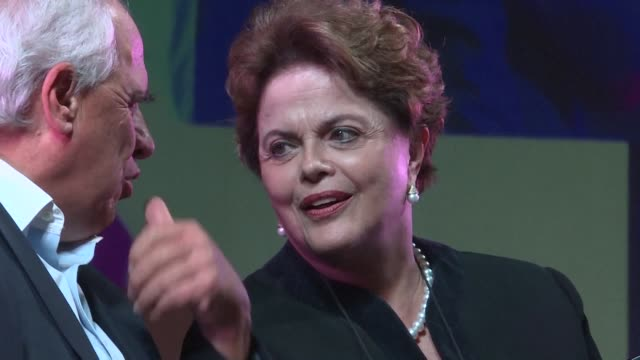 leading an international campaign for the liberation of former brazilian president luiz inacio lula da silva exleader dilma rousseff warns from... - prison icon stock videos & royalty-free footage