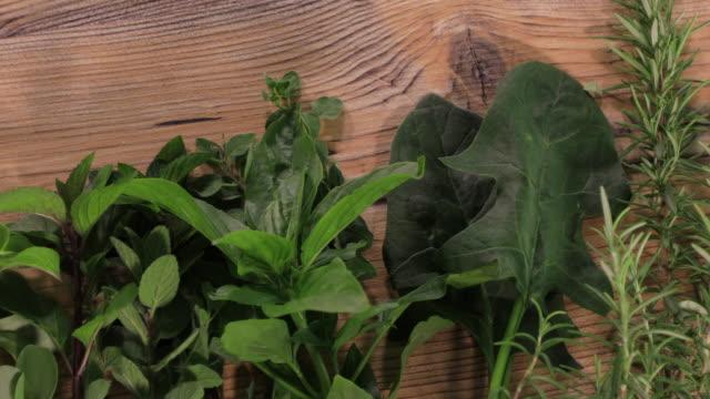 leaf vegetables - チャード点の映像素材/bロール