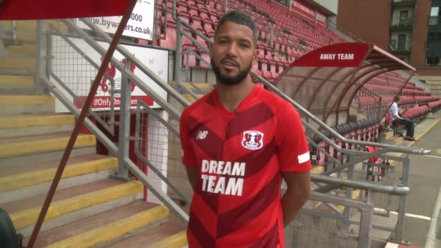 leyton orient prepare for new season following death of manager justin edinburgh england london leyton brisbane road ext jobi mcanuff interview sot - leyton orient f.c stock videos and b-roll footage