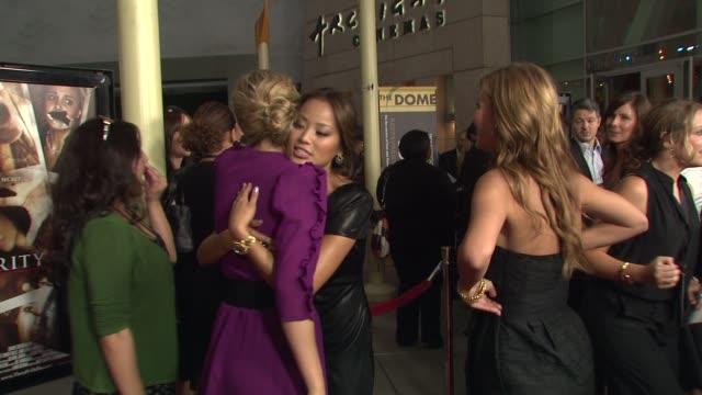 Leah Pipes Jamie Chung Audrina Patridge at the 'Sorority Row' Premiere at Hollywood CA