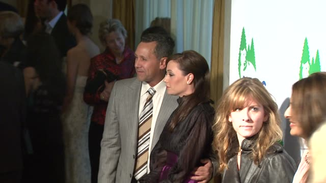 leah remini and guest at the national resources defense council's 20th anniversary celebration at beverly hills ca - national resources defense council stock videos & royalty-free footage