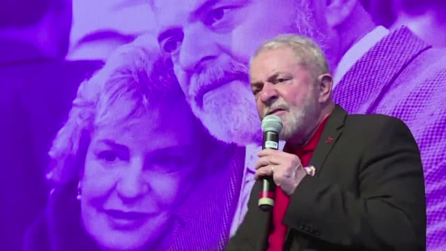 leaked documents reveal how brazilian anticorruption investigators conspired to keep the former president luiz inacio lula da silva out of the 2018... - former stock videos and b-roll footage
