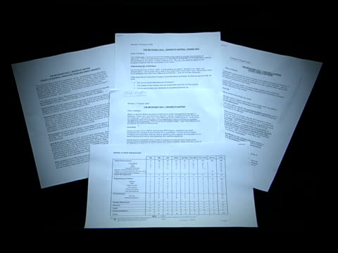 leaked documents reveal metronet is to cut more than 600 jobs ms cs documents leaked to channel 4 news showing 'the metronet way making it happen... - channel 4 news stock videos and b-roll footage