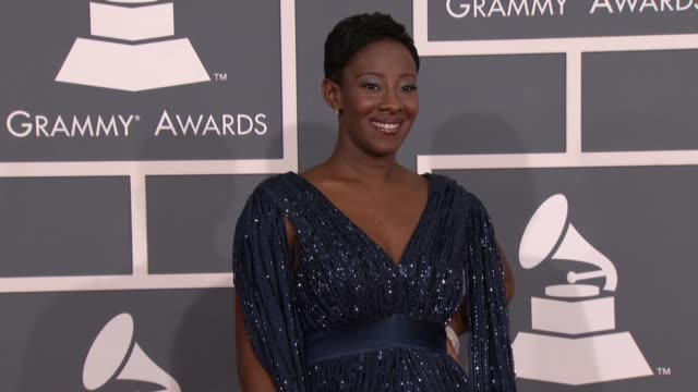 Le'ANdria Johnson at 54th Annual GRAMMY Awards Arrivals on 2/12/12 in Los Angeles CA