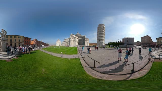 360 VR / Leaning tower of Pisa