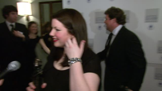 Leanne Jones at the The Laurence Olivier Awards at the Grosvenor House in London on March 9 2008