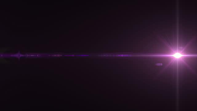 リーンフレア抽象光バックグラウンドループ4k - 特殊効果点の映像素材/bロール
