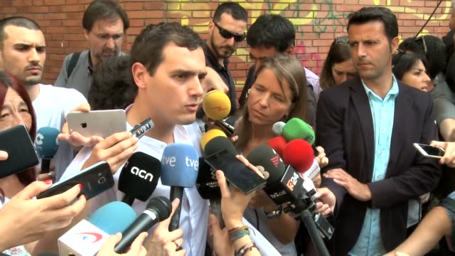 Learn from Brexit and go out to vote in Spains election Ciudadanos party leader Albert Rivera urges moderate voters as the country goes to the polls