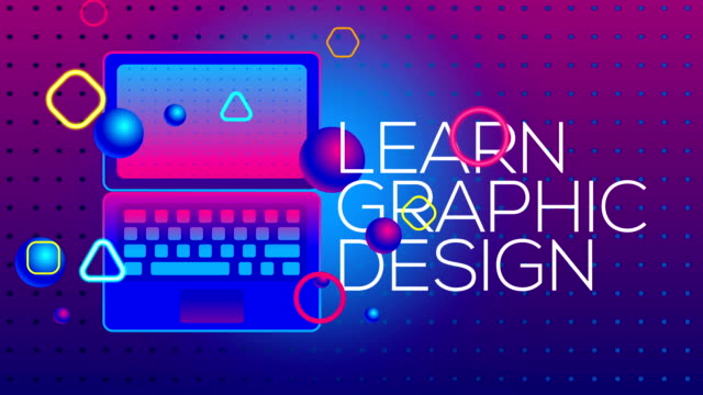 learn graphic design - tutorial stock videos and b-roll footage