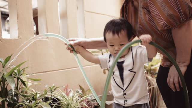 learn to love the environment - baby boys stock videos & royalty-free footage