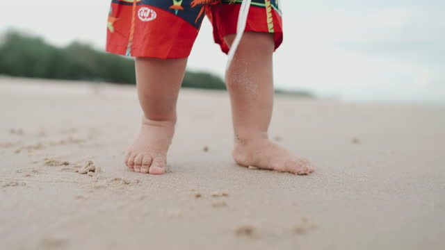 learn to walk - first steps stock videos & royalty-free footage