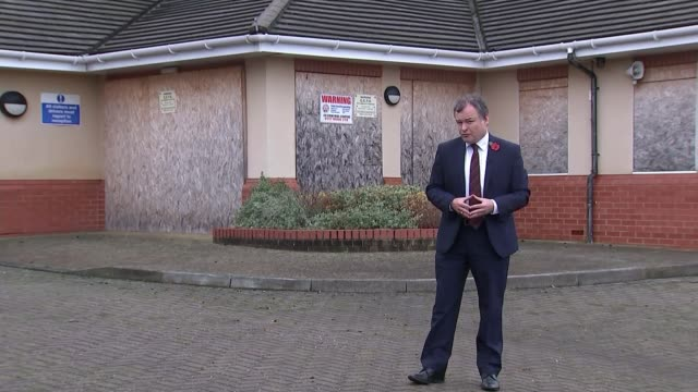 learning disability care units to close with move to community care reporter to camera/ dan scorer interview sot/ hambrook ext steve sollars... - gloucestershire stock videos and b-roll footage