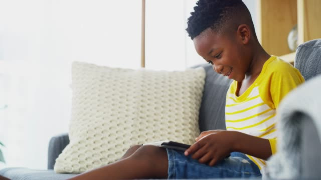 learning doesn't have to stop after school - using digital tablet stock videos & royalty-free footage