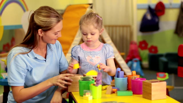 learning is fun - preschool stock videos & royalty-free footage