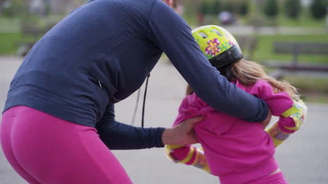 learning to skate - cycling helmet stock videos & royalty-free footage