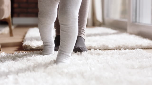 learning to walk - baby stock videos & royalty-free footage