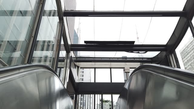 leaving at a subway station in paulista avenue, sao paulo city. - entering stock videos & royalty-free footage