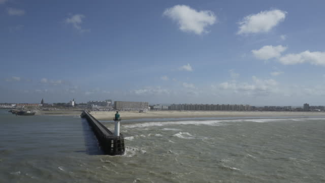 leaving the port of calais. - calais stock videos and b-roll footage
