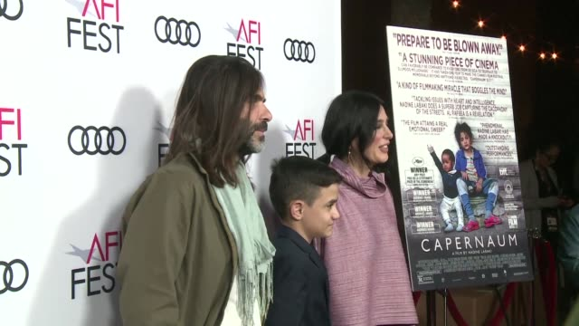 Lebanese director Nadine Labaki talking at the US premiere of her film Capernaum says winning an Oscar for best foreign film would enable the voice...